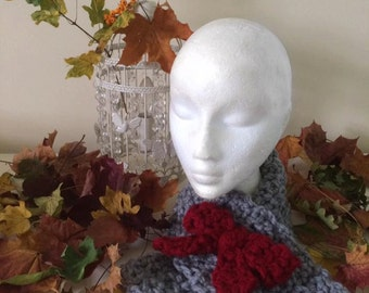 The Aspen Scarf - Wool Scarf Snood