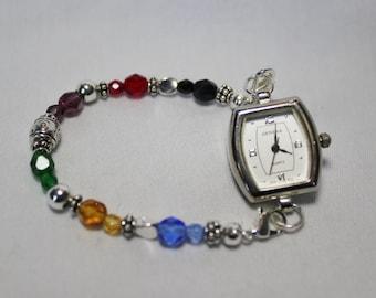 Lord's Prayer Beaded Interchangeable Watch Bracelet