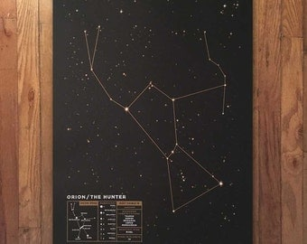 Constellation Poster Series: Orion