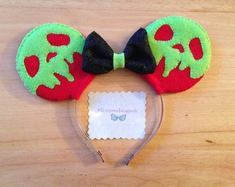 Snow White - Poison Apple Mickey Ears