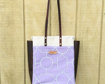 Leather Tote Bag- ON  SALE!