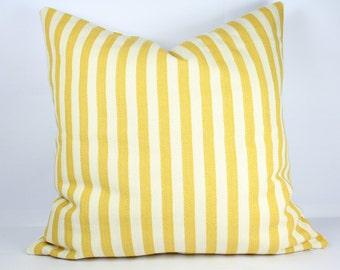 Striped pillow cover 24x24 herringbone pillow cover 18x18 yellow throw pillow 16x16 pillow cover 26x26 yellow decorative pillows sofa pillow