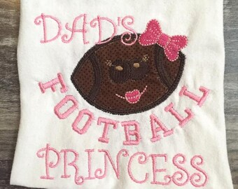 Dad's Football Princess