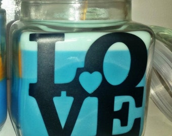 LOVE Soy Candles