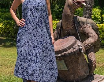 Tara Dress, Summer Dress, Casual Dress, A-Line Dress, Maxi Dress, Asymmetrical Dress, 106-103