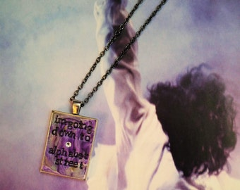 Alphabet Street Prince Pendant Necklace