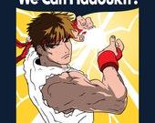 We Can Hadoukit - Men's Unisex T-Shirt - Anime Gaming Parody Clothing