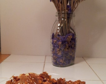 Vanilla Pecan Brittle Chips