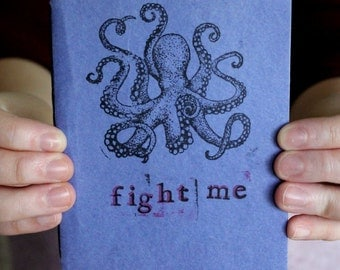 Fight Me Kraken Sketchbook