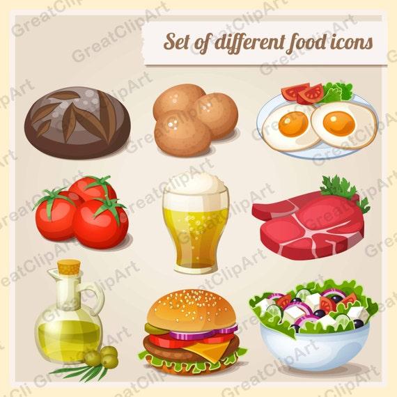 9 Food Clipart Breakfast Clipart Sandwiches Clipart