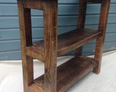 Hall table  kitchen unit  handmade from reclaimed timber
