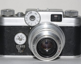 Vintage Argus C-Four Range Finder Camera