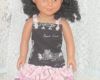 18 Inch Doll Clothes Dress  Sandals