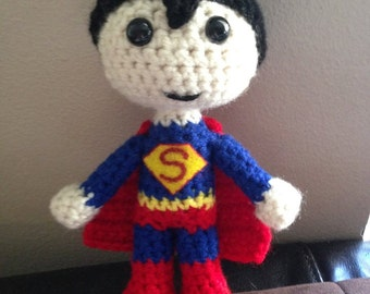 Crochet Superhero - Superman