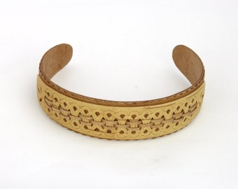 Headband. birch wood