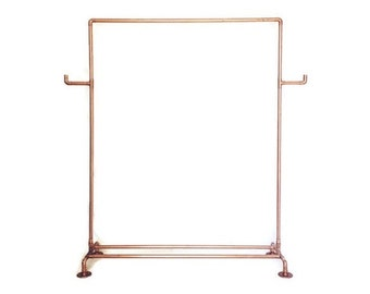 Copper Pipe Clothing Rack Made To Order