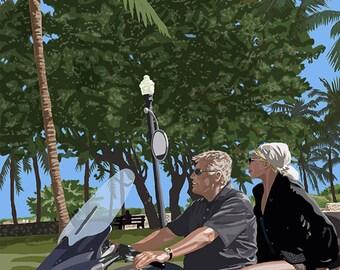 Ocean Dr, Miami Beach