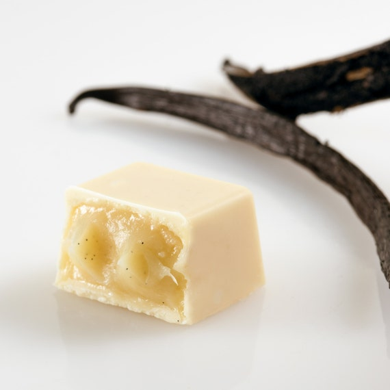 Vanilla Chocolate Truffles, gourmet Chocolate gift, kosher chocolate gift, gourmet gift