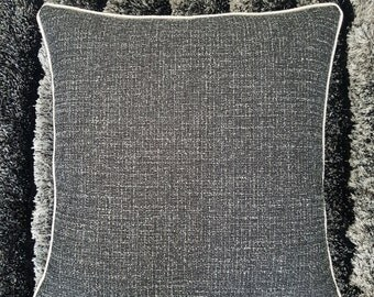 Cushion fabric gray - creating hand-made cover