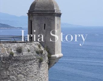 Monaco, Mediterranean Sea photo,instant download photo,blue ocean photo,architecture photo,art,photography