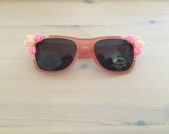 Decoden Pastel Pink Theme Floral Sunglasses