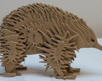 Echidna Australian Animal Series 3D Wooden Toy Puzzle