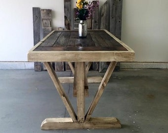 Reclaimed Barnwood Table