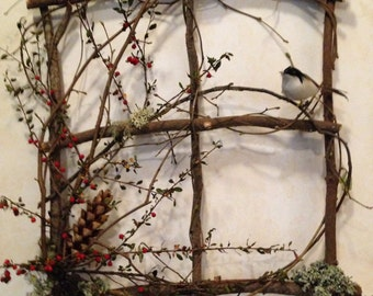 Natural Twig wreaths