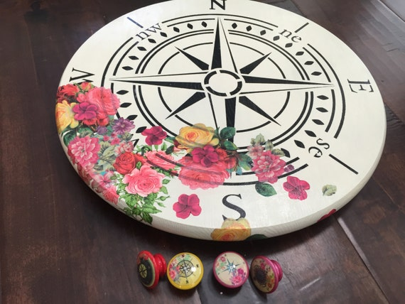 1 5 Inch Compass Themed Cabinet Knobs And Drawer Pulls
