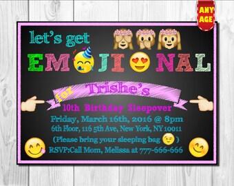 Emoji Invitation,Emojis Invitation,Emoji Party Invitation,Smiley emoji theme Invite,Emoji Faces Invitation, Emojis birthday party