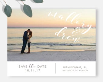 Simple Suite, Save the Date Invitation