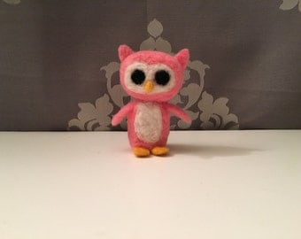 Owl - Needle Felted