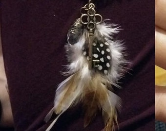 Enchanted Key & Crystal Necklace