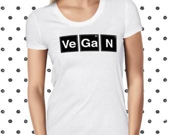 Vegan Shirt - Cute Vegan T-shirt - Science Shirt - Funny Vegan Tshirt - Science Tee - Unique Gift for Her - Funny Vegan Shirt - Planteeful