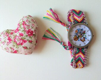Mexican clock, hippie, boho chic style.