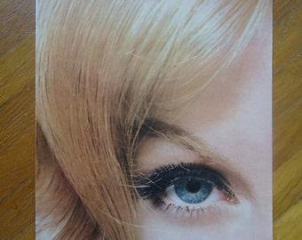 Blonde hair advertisement - Vintage Life Magazine - Blonde decor - Retro decor - Vintage advertising - Blonde advertising, Retro advertising