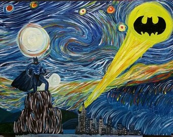 Batman Van Gogh