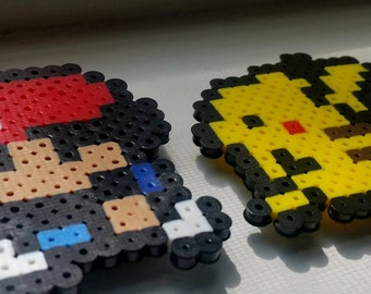 Red + Pikachu Duo Magnet Set featured in Pokemon Yellow