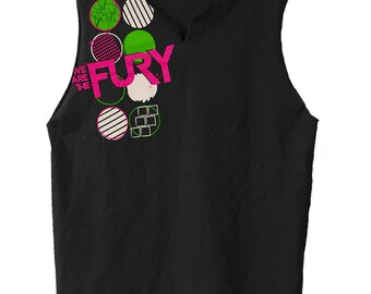 Black Circles- We Are The Fury muscle shirt