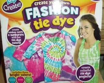 Go Create Fashion tie dye kit
