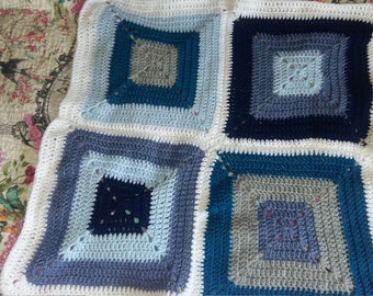 Square Crochet Blanket