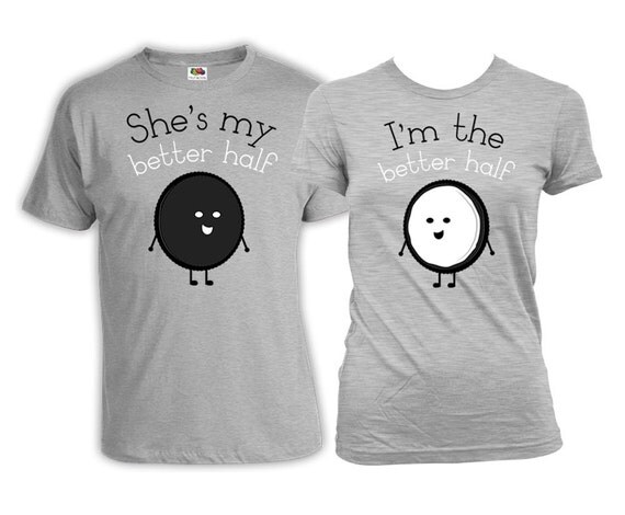Funny Couple Shirts Husband And Wife Gifts His And Her Shirts