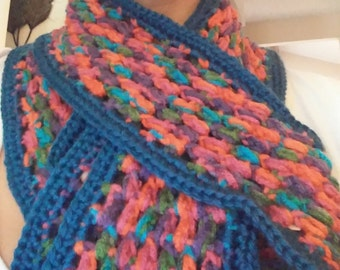 Hand Made Crocheted Scarf