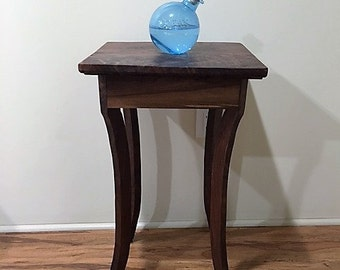 Reclaimed Solid Black Walnut Table