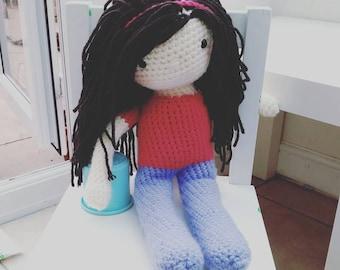 Crochet doll ARABELLA