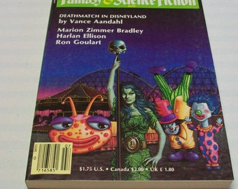 Magazine of Fantasy and Science Fiction F&SF July 1987 Paperback Book