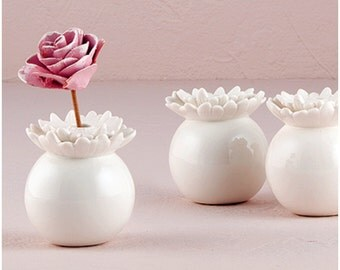 Miniature porcelain flower vase