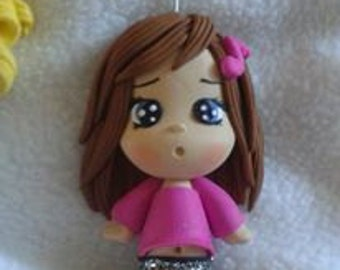 doll in polymer clay