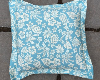 Tropical patterned cushion cover