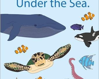 Fun Under the Sea: Children's Activity Magazine - Issue #1